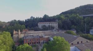 Aerial view of Calafou